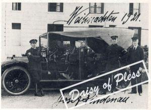 Jeden z samochodów książąt Pless
